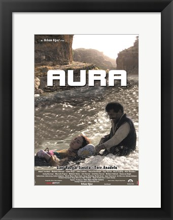 Framed Aura Film Turkish Print