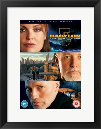 Framed Babylon 5: The Lost Tales - Voices in the Dark Print