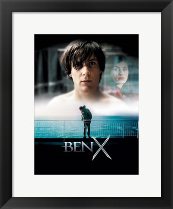 Framed Ben X Movie Print