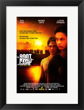 Framed Boot Camp Print