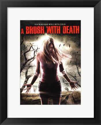 Framed Brush with Death Print