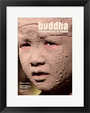 Framed Buddha Collapsed Out of Shame Print