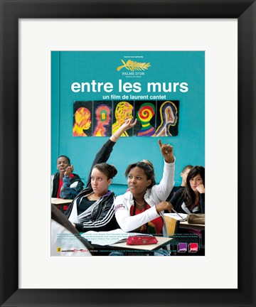 Framed Class Entre Les Murs French Film Print