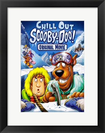 Framed Scooby-Doo Chill Out Print