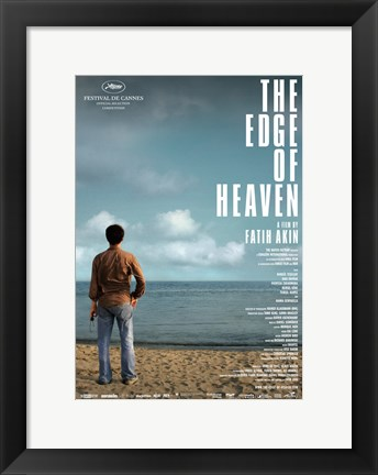 Framed Edge of Heaven Desert Ocean Print