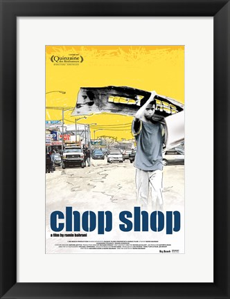 Framed Chop Shop Print