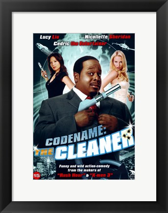 Framed Code Name: The Cleaner Print