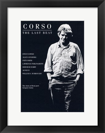 Framed Corso: The Last Beat Print