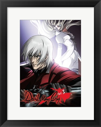Framed Devil May Cry Print