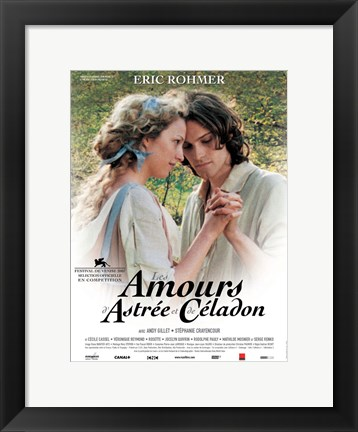 Framed Romance of Astree and Celadon Print