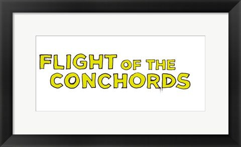 Framed Flight of the Conchords TV Show Print