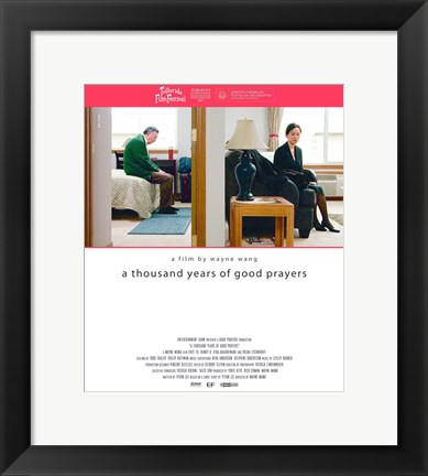 Framed Thousand Years of Good Prayers Print