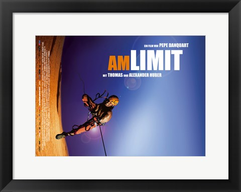 Framed To the Limit Print