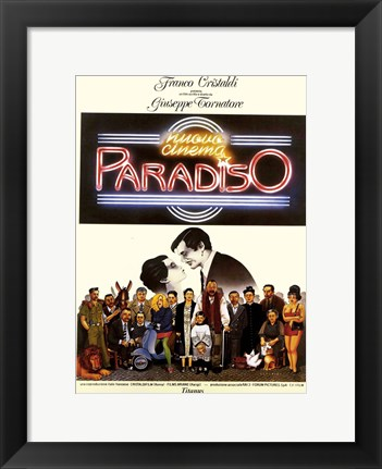 Framed Cinema Paradiso: The New Version Print
