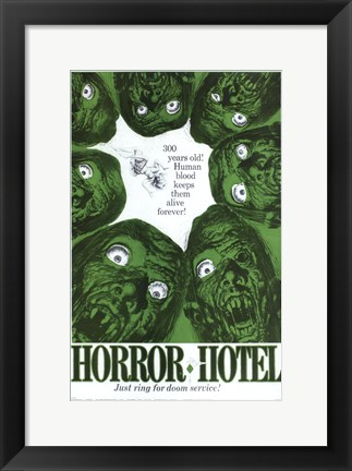 Framed Horror Hotel Print