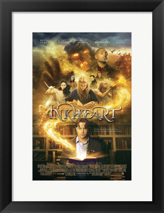 Framed Inkheart, c.2009 - style A Print