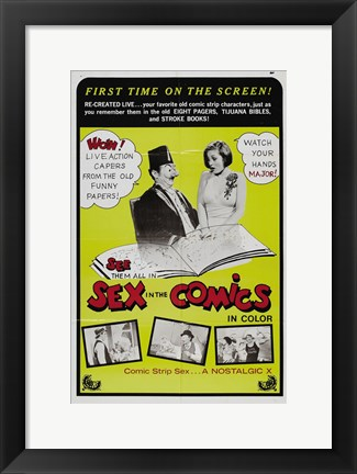 Framed Sex in the Comics Print