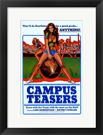 Framed Campus Teasers Print