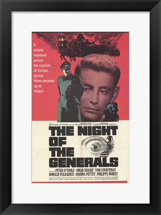 Framed Night of the Generals Print