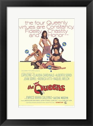 Framed Queens Print