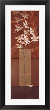 Framed Tranquil Orchids II Print
