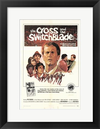 Framed Cross and the Switchblade Print