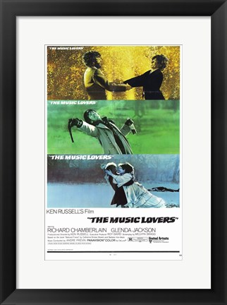 Framed Music Lovers Print