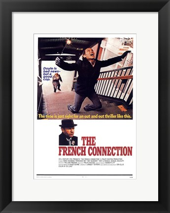 Framed French Connection Screaming Print