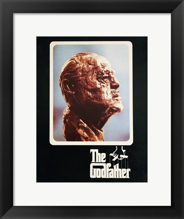 Framed Godfather Sculpture Print