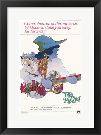 Framed Pied Piper Print