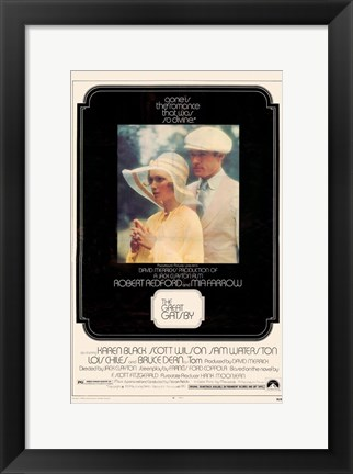Framed Great Gatsby Bedford Print