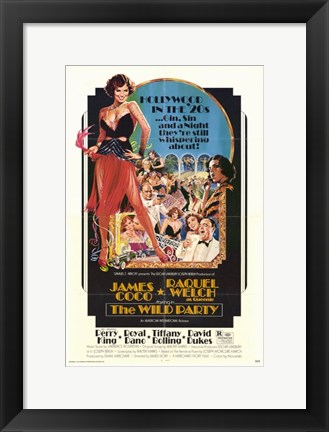 Framed Wild Party Print