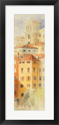 Framed View of Bassana del Grappa Print