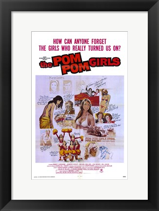 Framed Pom-Pom Girls Movie Print