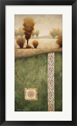 Framed Transitional Landscape III Print