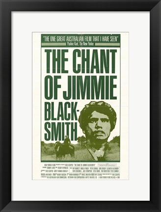 Framed Chant of Jimmie Blacksmith Print