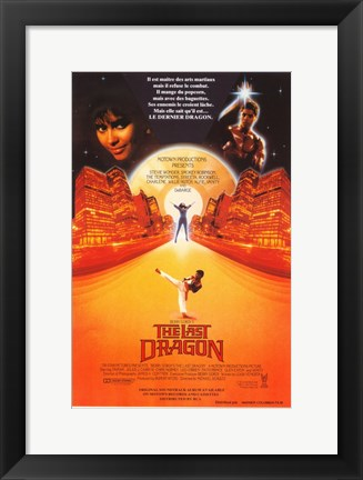 Framed Last Dragon French Print
