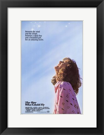 Framed Boy Who Could Fly Print