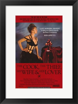 Framed Thief His Wife and Her Lover Print