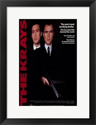 Framed Krays Print