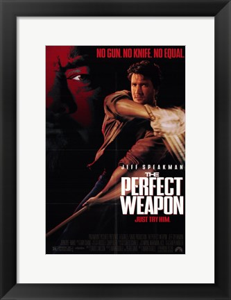Framed Perfect Weapon Print