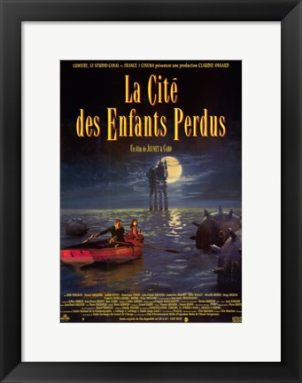 Framed City of Lost Children French Print