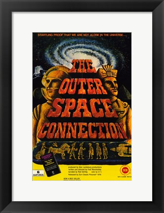 Framed Outer Space Connection Print