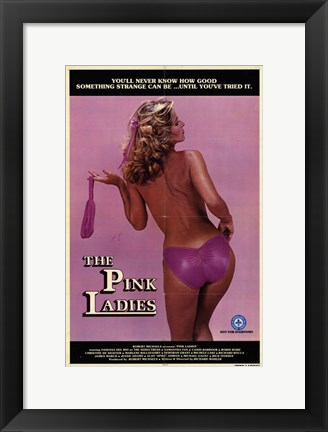 Framed Pink Ladies Print