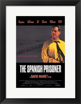 Framed Spanish Prisoner Print