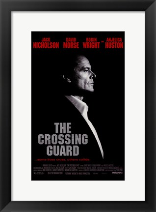 Framed Crossing Guard Print
