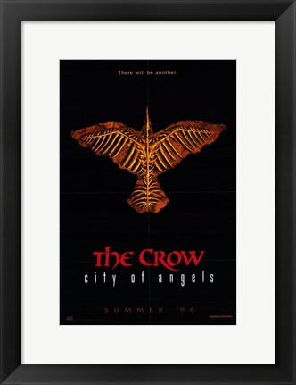 Framed Crow 2: City of Angels Print