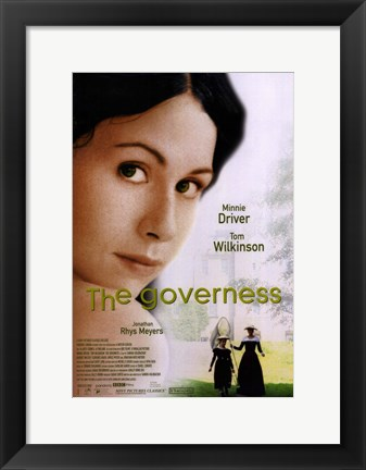 Framed Governess Print