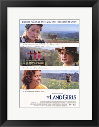 Framed Land Girls Print