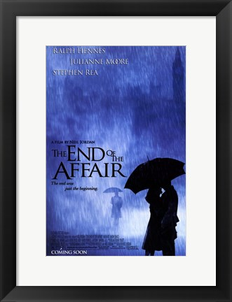 Framed End of the Affair Print